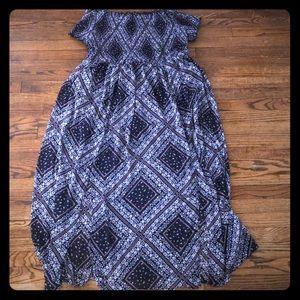 Dresses & Skirts - Xhilaration Target smocked maxi dress size 3x